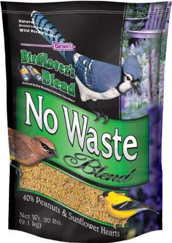 F.M. Brown's Bird Lovers Blend, 20-Pound, No Waste Blend (Bird Food Shelled Sunflower Seeds compare prices)