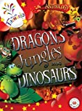 img - for Dragons, Jungles and Dinosaurs 3rd Class Anthology (Fireworks English) book / textbook / text book