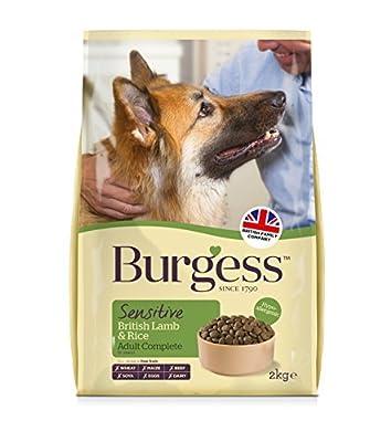 Burgess Sensitive British Lamb and Rice Adult Dog Food 2 kg