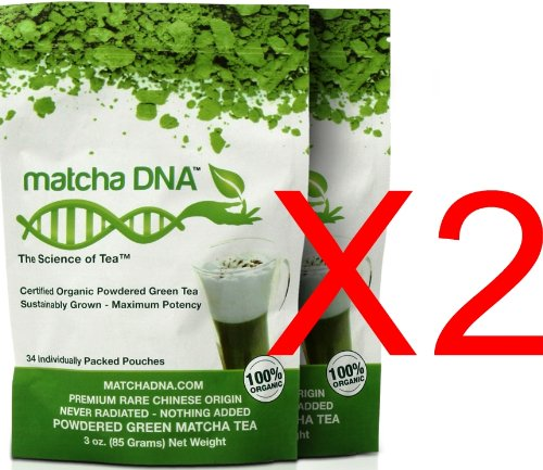 Usda Organic - Certified Organic Matcha Green Tea 6 Oz - By Matchadna