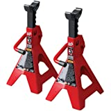 Torin T43002 3 Ton Jack Stands (Sold in Pairs)