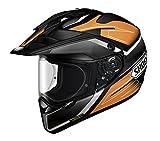 ショウエイ(SHOEI) ヘルメット HORNET ADV SEEKER TC-8 オレンジ/ブラック X(61cm)L