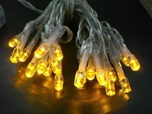 LED Lichterkette, Betrieb ohne Steckdose, lange Leuchtdauer m. handelsüblichen Batterien; Anzahl der LED:10 LED
