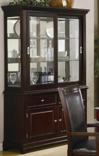Cheap Dining Room Hutch and Buffet – Coaster 101634 (VF_AZ00-76813×37106)