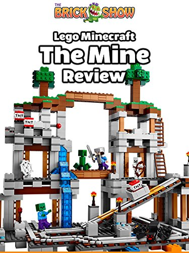 LEGO Minecraft, The Mine Review (21118)