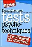 echange, troc Jean-Marc Engelhard - S'entraîner aux tests psychotechniques