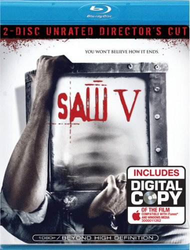Saw V - 2 Disc Director's Cut [Blu-ray]
