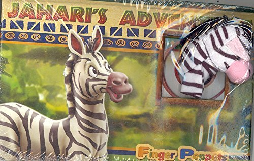 Jahari's Adventure Finger Poppets - 1