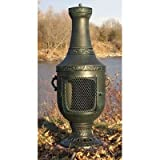 Venetian-Style-Chiminea-Finish-Antique-Green