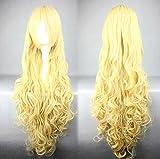 Amagi Brilliant Park Anime Latifah Fururanza Cosplay Wig Yellow Hair