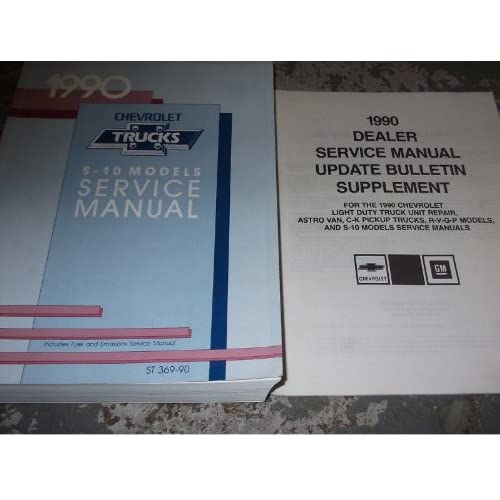S-10 Service Manual
