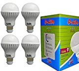 5W-Plastic-LED-Bulb-(Cool-Day-Light,-Pack-Of-4)