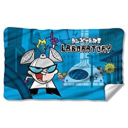Dexters Laboratory Lab Fleece Blanket