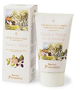 Speziali Fiorentini Ultra Rich Body Cream, Rose and Blackberry, 5.0 Ounce