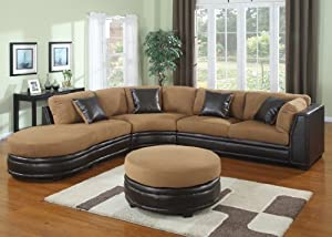3 Piece Sectional Sofa plus Ottoman