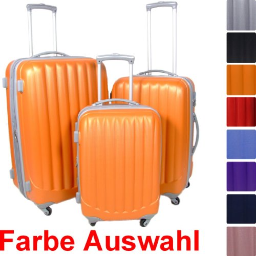Reisekoffer Koffer Trolley Hartschale in 8 Farben