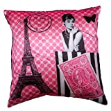 Bandbox Audrey In ParisPink (Size:- 16 In. X 16 In.)