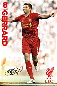 Poster Liverpool - Gerrard 13/124 - reasonably priced poster, XXL wall poster, format 61 x 91.5 cm by POSTERLOUNGE