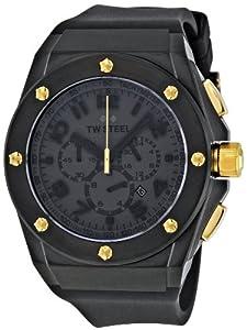 TW Steel TW-685 Lotus Renault GP Tech - Reloj de hombre con cronógrafo, color negro y dorado