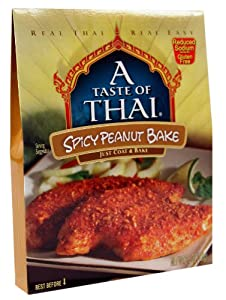 A Taste Of Thai Spicy Thai Peanut Bake 35-ounce Packets Pack Of 12 from A Taste of Thai