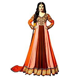 Ethnic bliss Lifestyles Fashion Exclusive Designer Semi-Stitched Dress Material