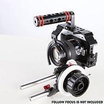 NEW Tilcam OEM Cage Rig Rail Rod System With Upper Handle for BlackMagic Pocket Cinema Camera BMPCC