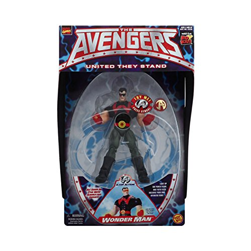 "MARVEL AVENGERS "" WONDER MAN "" w/ LIGHT UP POWER MOC - 1"