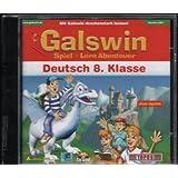 Galswin Spiel + Lern Abenteuer - Deutsch 8. Klasse (Mit Galswin drachenstark lernen)