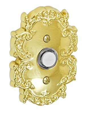 Fusion Hardware BEL-C8-PVD Designer Collection Victorian Doorbell, PVD Brass, 1-Pack