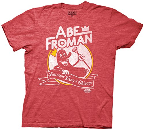 Men's Ferris Bueller Abe Froman Ad TY-shirt. S to 3XL.