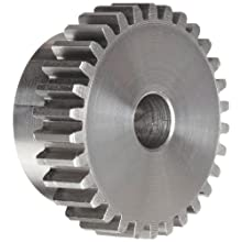 Boston Gear Spur Gear, 14.5 Pressure Angle, Cast Iron, Inch, 20 Pitch