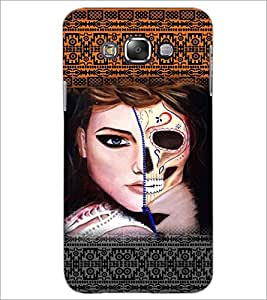 PrintDhaba Ghost Girl D-5889 Back Case Cover for SAMSUNG GALAXY GRAND 3 (Multi-Coloured)