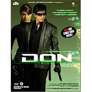 DON Bollywood Movie Poster - SHAHRUKH KHAN - PRIYANKA CHOPRA (DVD ...
