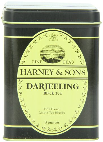 Harney And Sons Loose Leaf Tea, Darjeeling Tea, 8 Ounce
