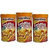 3 Pack of Wardley Goldfish Flakes, 6.8oz per unit
