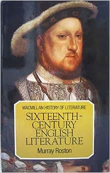 English literature 16th century