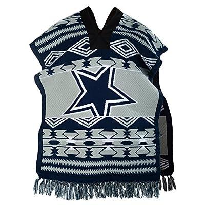 NFL Dallas Cowboys Unisex Poncho, Blue