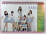 KARA (カラ)/2014年-2015年/卓上カレンダー+ステッカーシール16枚セット(K-POP/韓国製)