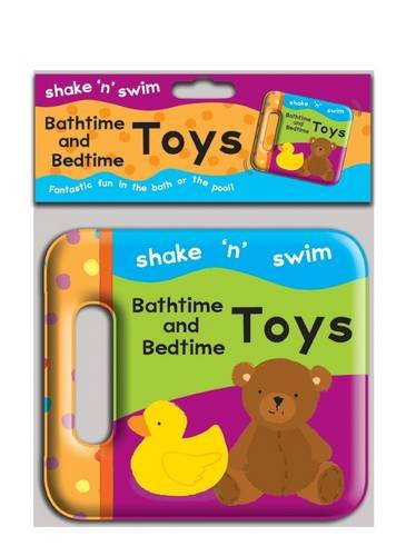 Children's Shake N Swim Rattle Bathtime And Bedtime Toys Bath Book