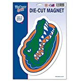NCAA Florida, University of 81500012 University of Florida Die Cut Logo Magnet, Small, Black