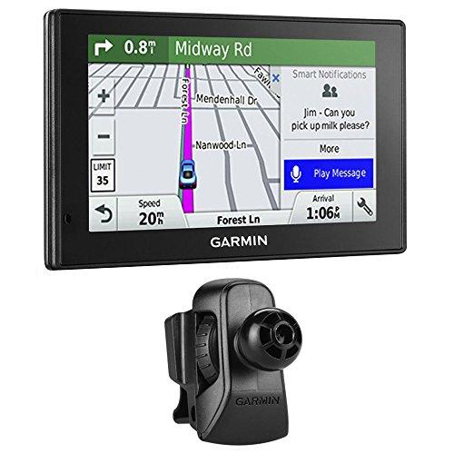 Garmin DriveSmart 50LMT GPS Navigator (010-01539-01) with Garmin Air Vent Mount (Traffic Condit compare prices)