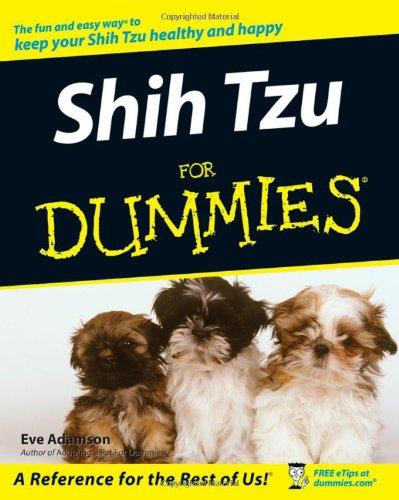Shih Tzu For Dummies