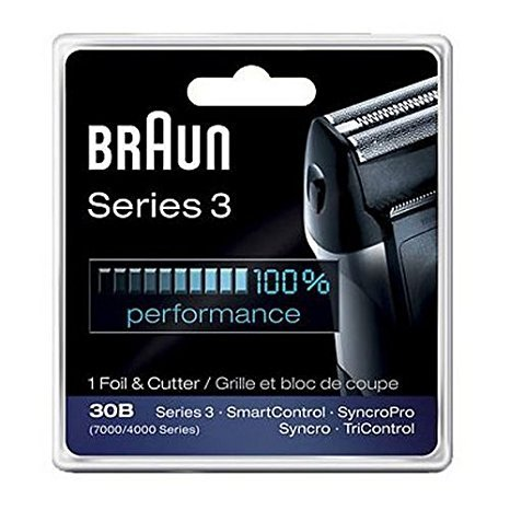 Braun 30B, 7000FC Syncro series screen foil and cutter blade. (Braun 4700fc compare prices)