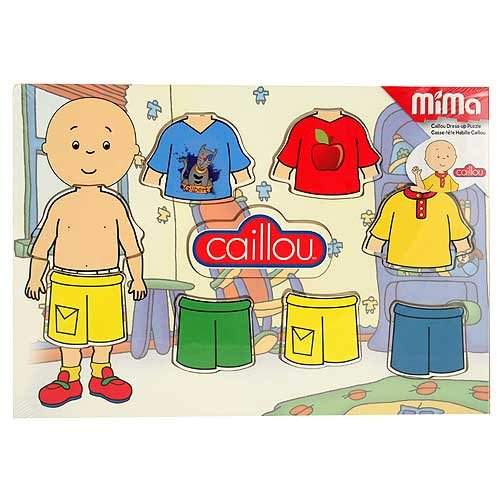 Imagen principal de Caillou Dress-Up Wood Puzzle