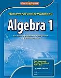 Algebra 1, Homework Practice Workbook (MERRILL ALGEBRA 1)