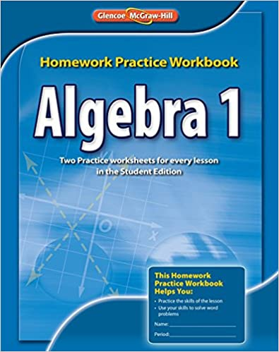 Free Math Homework for Algebra    This Algebra   math homework is aligned  with the
