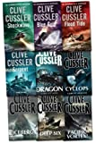 Clive Cussler Dirk Pitt Series Collection 9 Books Set Pack