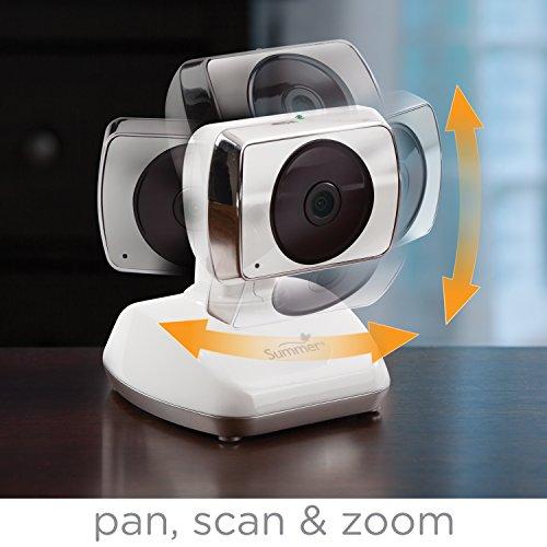 summer infant baby secure pan scan zoom video baby monitor. Black Bedroom Furniture Sets. Home Design Ideas