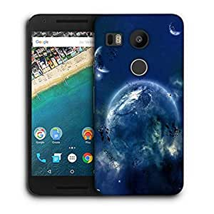 Snoogg Amazing Space Printed Protective Phone Back Case Cover For LG Google Nexus 5X