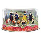 Snow White and the Seven Dwarfs 13-piece Figure Deluxe Play Set [Includes Snow White, the Prince, the Evil Queen, Doc, Grumpy, Dopey, Sneezy, Sleepy, Bashful, Happy]